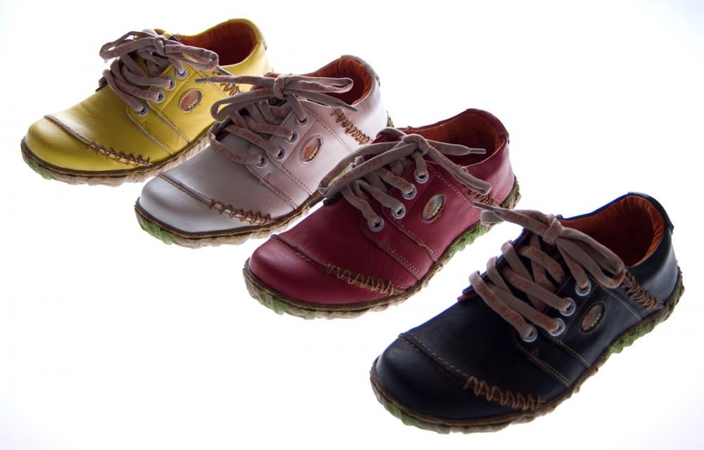 e6c39fd9a32b3f Das Bild wird geladen Damen-Comfort-Leder-Schuhe-TMA-EYES-Halbschuhe