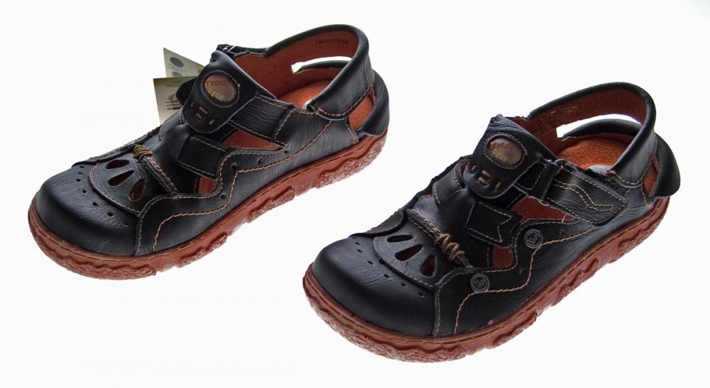 leder sandalen damen sandaletten comfort schuhe tma echt. Black Bedroom Furniture Sets. Home Design Ideas
