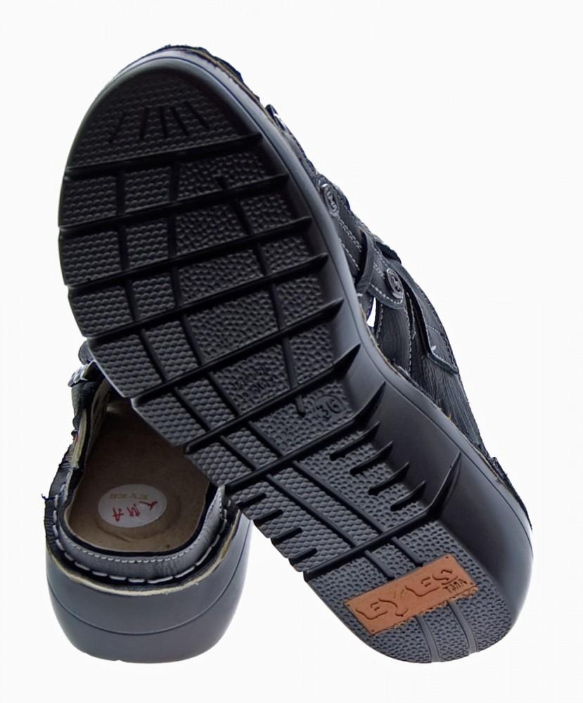 damen leder clogs tma schuhe slipper echt leder comfort. Black Bedroom Furniture Sets. Home Design Ideas