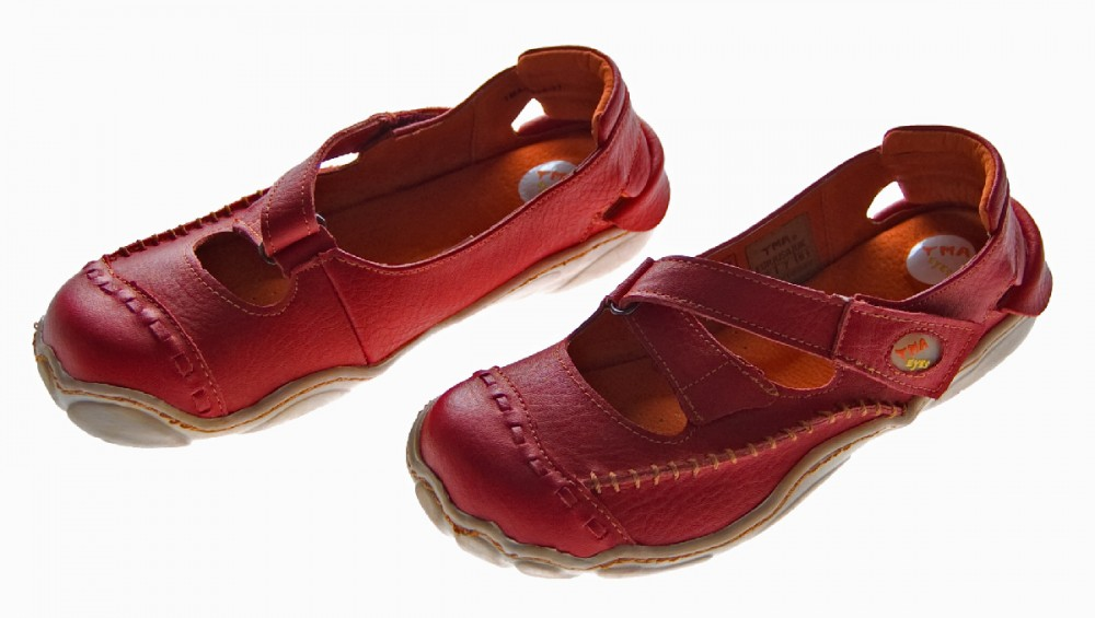 tma leder sandaletten comfort damen sandalen schuhe echt leder v farben 36 42 ebay. Black Bedroom Furniture Sets. Home Design Ideas