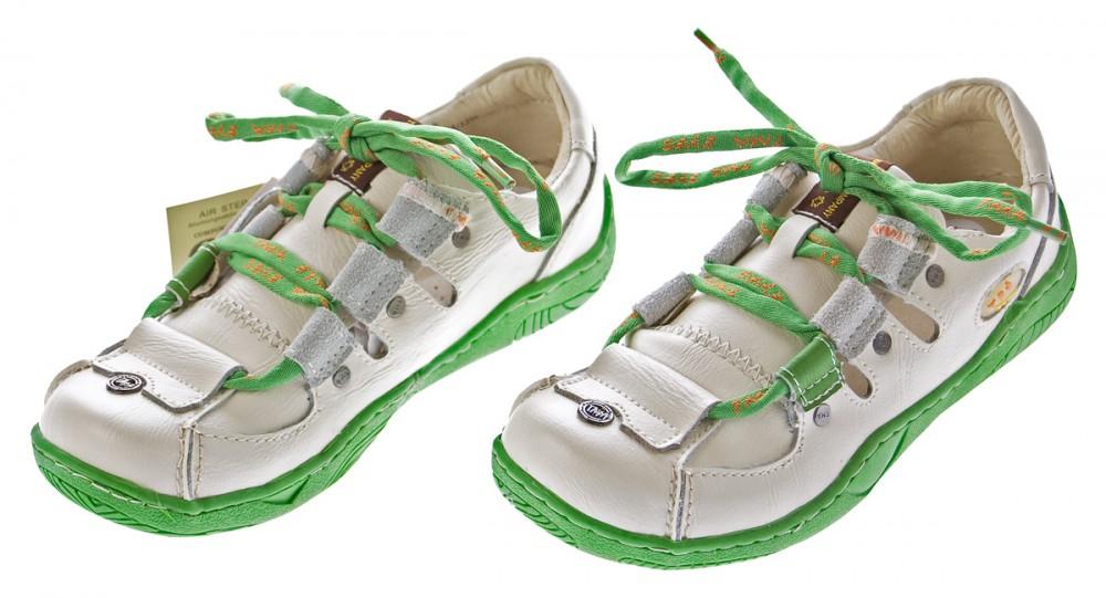 Leder-Schuhe-Damen-Halbschuhe-Sandaletten-Schnuersenkel-Bunt-Used-Look-TMA-Eyes Indexbild 3
