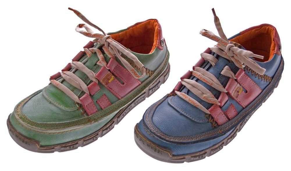 mens leather loafers used look trainer blue green comfort. Black Bedroom Furniture Sets. Home Design Ideas