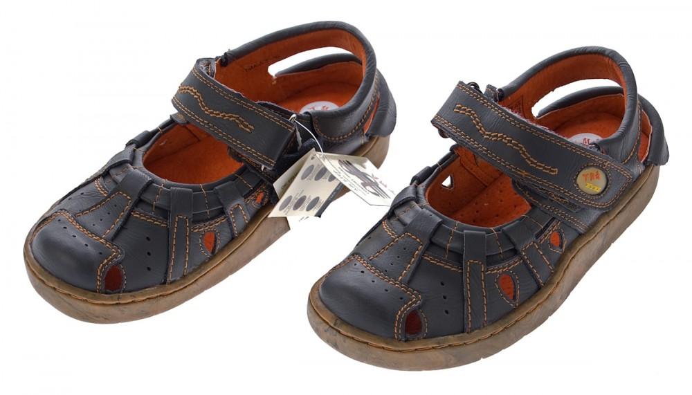leder sandaletten damen schuhe outdoor comfort tma. Black Bedroom Furniture Sets. Home Design Ideas
