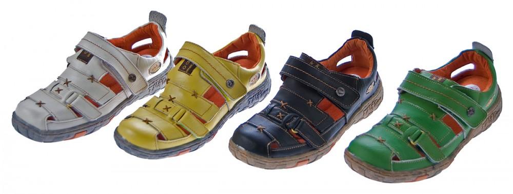 damen leder sandalen klettverschluss halbschuhe tma sommer schuhe sandaletten ebay. Black Bedroom Furniture Sets. Home Design Ideas