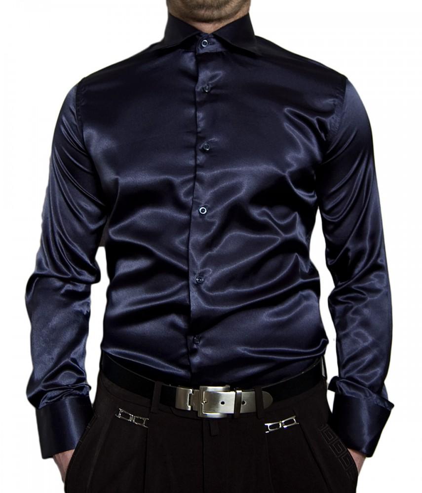 designer herren glanz hemd slim fit tailliert b gelfrei viele farben. Black Bedroom Furniture Sets. Home Design Ideas