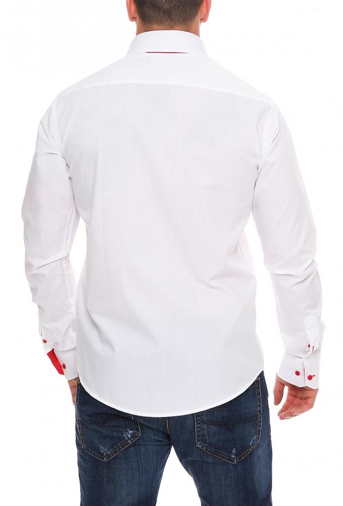 herren designer freizeit hemd tailliert 2 kragen herrenhemd slim fit neu m xxl ebay. Black Bedroom Furniture Sets. Home Design Ideas