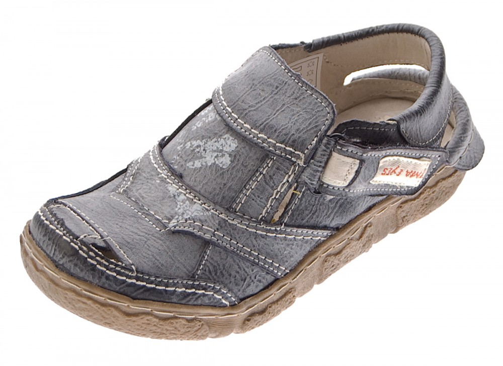 tma damen sandaletten leder schuhe comfort sandalen. Black Bedroom Furniture Sets. Home Design Ideas