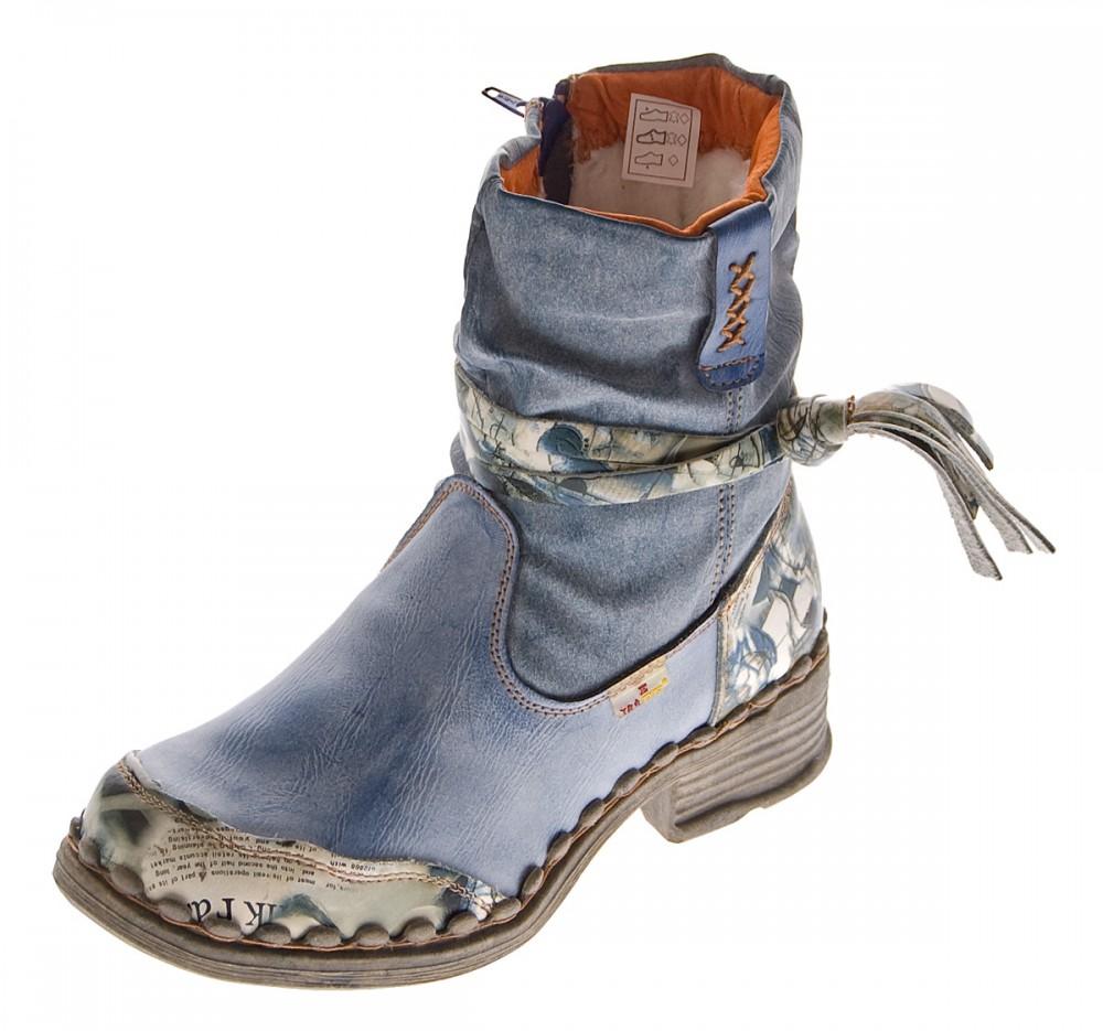 leder damen winter stiefeletten comfort boots kn chel schuhe tma 5050 gef ttert ebay