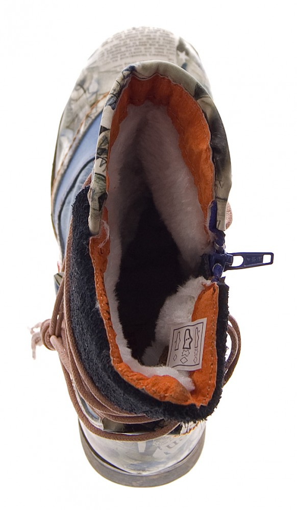 damen leder winter stiefeletten comfort boots tma 5061. Black Bedroom Furniture Sets. Home Design Ideas