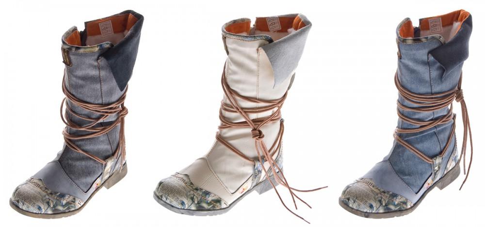 damen leder winter stiefel comfort boots tma 5561 schuhe. Black Bedroom Furniture Sets. Home Design Ideas