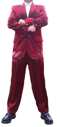 hochzeit herren anzug glanz rot hochzeitsanzug herrenanzug glanzanzug sakko hose ebay. Black Bedroom Furniture Sets. Home Design Ideas