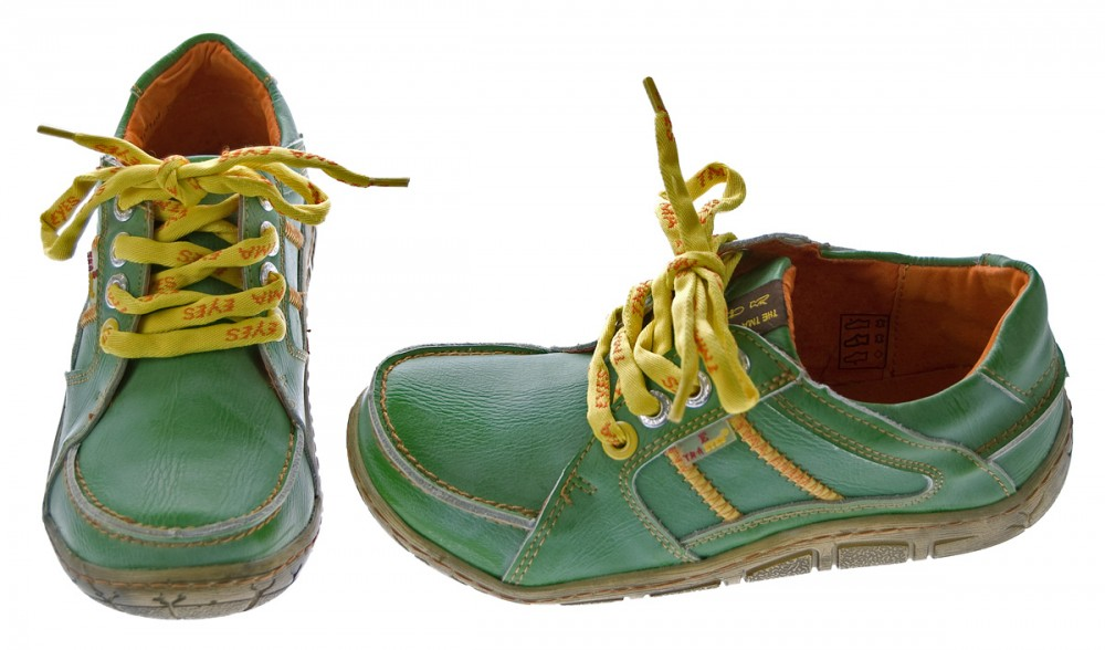 leder damen halb schuhe comfort sneakers used look gr n blau rot turnschuhe tma eyes schuhe. Black Bedroom Furniture Sets. Home Design Ideas